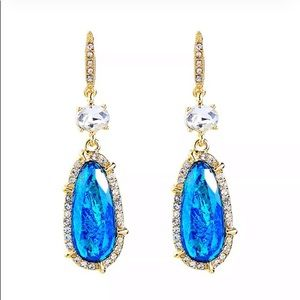 NWT Betsey Johnson Rhinestone Drop Earrings